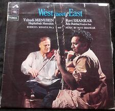 WORLD MUSIC West Meets East Yehudi Menuhin/Ravi Shankar