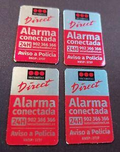 CUATRO CARTELES SECURITAS DIRECT