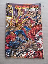 Ultraverse Unlimited 1 . Rune / Black Knight / Adam Warlock - Malibu 1996 - VF