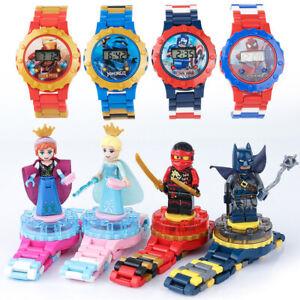 Toys for Boys Kids Marvel Hero Cartoon Electric Watch Cute Kids Birth Xmas Gift