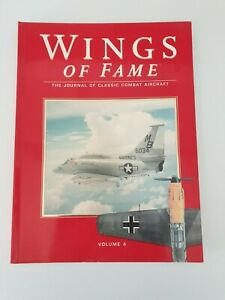 Book paperback -Wings Of Fame -Volume 4- The Journal of Classic Combat Aircraft