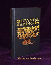 CRYSTAL GAZING by Northcote Thomas, Hardcover Edition, Nephilim Press, Grimoire