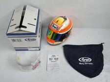 ARAI GENUINE OEM GP-6S 8859 WHITE FULL FACE HELMET S SIZE