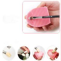 Women Cleaning Glove MakeUp Washing Egg Brush Scrubber Board Cosmetic Brush Tool