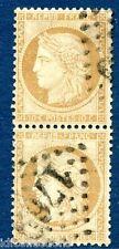 Classique de France Cérès N° 36 GC 1769 Le Havre en paire verticale cote: 200€