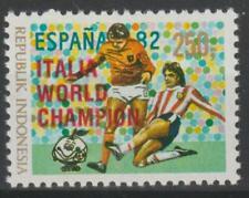 Indonesia 1982 Scott #1177c Soccer World Cup - MNH