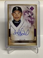 ⚾ 2020 Topps Transcendent Baseball Ichiro Suzuki On Card Auto Purple /10  ⚾
