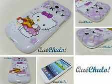 FUNDA CARCASA TPU PARA SAMSUNG GALAXY S3 I9300 HELLO KITTY _