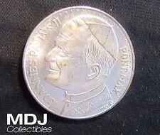 Pope John Paul II Vatican Rome Pieta Silver Medal Token