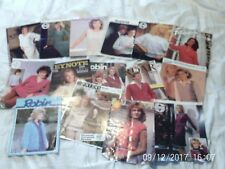 Pattern Books 1980s 1990s X 15 JOB LOT  Vintage Knitting Patterns