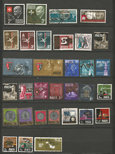 MALTE  32 timbres anciens oblitérés /T4362
