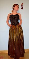 vintage 80s prom dress black and gold christmas
