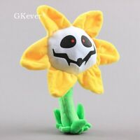25CM Flowey Undertale Sans Plush Toy Soft & Stuffed Doll For Kids Birthday Gift