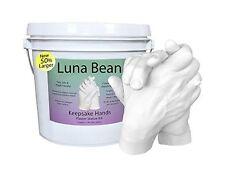 Luna Bean KEEPSAKE HANDS Plaster Statue DIY Hand Molding & Casting Kit