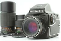 【EXC+5 3Lens Set】 Mamiya M645 Sekor C 80mm F2.8, 150mm F3.5, 210mm F4 From JAPAN