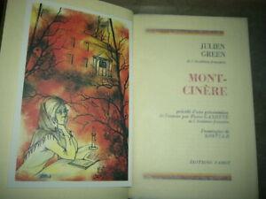 Mont-Cinère Julien GREEN- édition de luxe FAMOT- frontispice KOSTIA-B