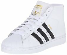 Adidas Big Kids Originals Pro Model Sneaker White/Black/White S85962
