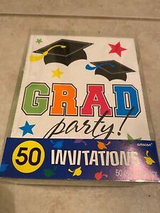 Graduation Invitation Cards - 50