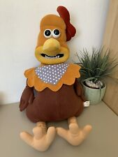More details for chicken run rocky large soft plush pjs case v rare boots 66cm tall aardman