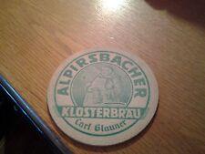 sottobicchiere beer mats birra alpirsbacher klosterbrau