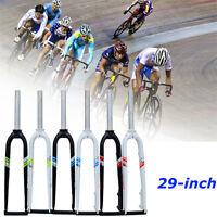 "29"" 700C Aluminum Alloy Mountain Bike Bicycle Disc Hard Fork Suspension Brakes"