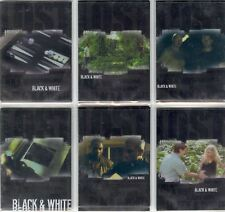 Lost Revelations Complete Black And White Chase Card Set BW1-6