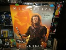 BRAVEHEART Movie Silk Fabric POSTER Mel Gibson Game of Thrones