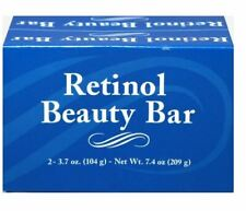 Puritan's Pride Retinol Beauty Bar, 2 Bars Pack - 7.4 oz, Face & Body Soap