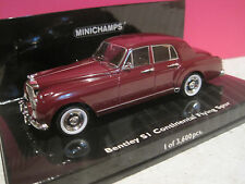 MINICHAMPS RARE!SUPERBE BENTLEY SI CONTINENTAL FLYING SPUR 1955~~1/43 NEUF BOITE