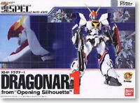 Used Bandai Tamashii Spec XS-05 Dragonar 1 from Opening Silhouette Painted