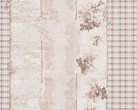 Djooz Tapete Shabby Chic I  Landhaus 95666-2  creme Vintage Rosen Romantik