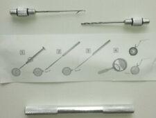 2 tlg Set Boilienadel Boilie Bohrer Boilie Tool Kit Baiting Needle Nadel Karpfen