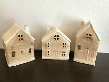 Ceramic House Luminary Candle Holders Target Christmas Light up houses