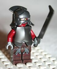 Lego URUK-HAI HELMET ARMOR MINIFIGURE from Lord of the Rings Helm's Deep (9474)