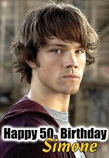 Supernatural SAM Birthday PERSONALISED Greetings Card