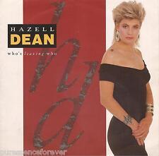 "HAZELL DEAN - Who's Leaving Who (UK 2 Tk 1988 7"" Single PS)"