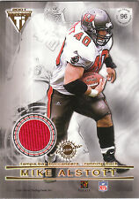 2001 Private Stock dual game used jersey card Kimble Anders / Mike Alstott
