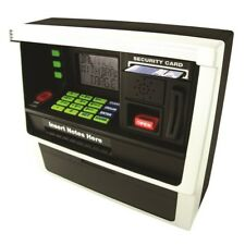 ATM Personal Bank Machine Style Coin & Notes Piggy Savings Cash With Sound Gift