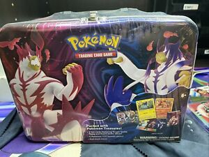 Pokémon TCG Collector Chest Lunch Box Tin Spring 2021 Card Booster Box Sealed❗