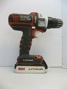 Black+Decker Matrix Drill BDCDMT120 20v Lithium Battery hand power tool