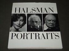 1983 HALSMAN PORTRAITS BOOK EDITED BY YVONNE HALSMAN - NICE PHOTOS - I 1587
