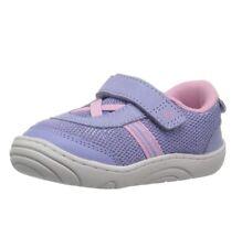 "Stride Rite 360 ""Jackson� 6M Toddler No Tie Sneaker Pink/purple"