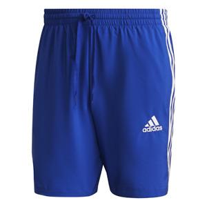 Adidas ESSENTIALS CHELSEA 3-STRIPES SHORT. Mens. Blue.