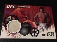 Vitor Belfort UFC 2010 Topps Ultimate Gear #UG-VB