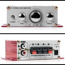 Endstufe HIFI Stereo Amplifier Verstärker AUTO KFZ PKW MP3 Mit Adapterkabel