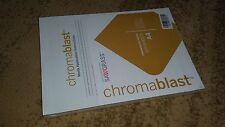 Chromablast-Papier Format  DIN  A4  100 Bogen ( Blatt )