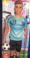 BARBIE COLLECTOR YOU CAN BE ANYTHING SOCCER PLAYER KEN BARBIE DOLL, NEW