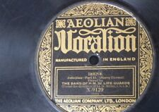 78rpm LIFE GUARDS BAND irene , selection , VOCALION x 9129