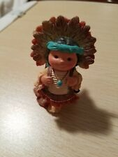 Friends of the Feather Enesco 1995 Indian Chief