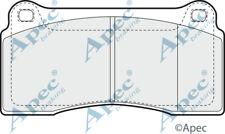 PAD1342 GENUINE APEC FRONT BRAKE PADS FOR JAGUAR XK 8